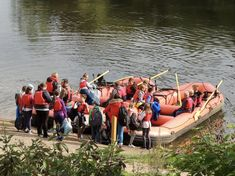 Enjoy time spent on the river Severn not far from Shrewsbury with your school group learning about the birthplace of the industrial revolution. The rivers curriculum is also taught with Shropshire Raft Tours. The Iron Bridge, River Severn, Boat Hire, Water Safety, Sustainable Tourism, Canoe And Kayak, Beautiful Sites, Paddle Boarding, Rafting