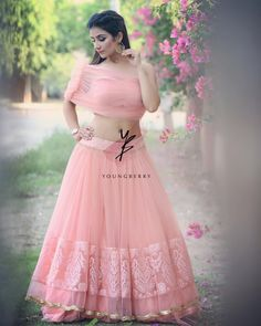 Wedding Ideas - Number one for real weddings and fabulous planning ideas for bride, wedding dresses, bridesmaids, wedding cakes and much Indian Wedding Outfits, Indian Outfits, Wedding Dresses, Indian Designer Outfits, Designer Dresses, Lehenga Gown, Saree, Anarkali, Indian Gowns