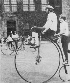 Westfied 1870 Columbia Antique Bicycles, Penny Farthing, Cycling Art, Columbia, Tweed, Bike, Black And White, History, Antiques