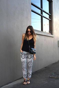 10 formas de usar pantalones estampados