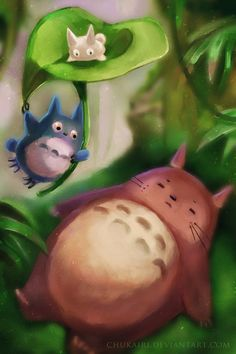 My Neighbor Totoro by Chukairi.deviantart.com on @deviantART
