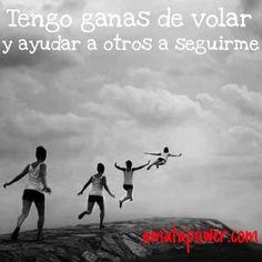 Vuela #amigo, #vuela alto...Y encuentra tu sueño.#frases#citas#amatupower