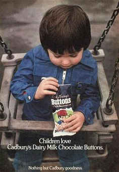 Cadbury Buttons - 1975 advert.