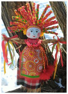 Домашняя Масленица. Мастер-класс по изготовлению куклы в народном стиле. - Ярмарка Мастеров - ручная работа, handmade