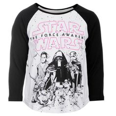 Girls Star Wars Raglan T Shirt