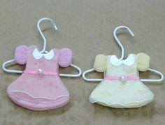 Vestidos para recuerditos de Baby Shower