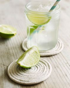 Rope Coasters: Great recipes and more at http://www.sweetpaulmag.com !! @Sweet Paul Magazine