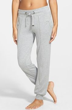 X BY GOTTEX Stretch Modal Track Pants available at #Nordstrom