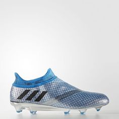 Messi 16  Pureagility Firm Ground Boots - Silver