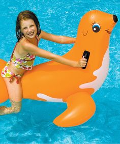 Look At This Swimline Seal Float On #zulily Today!
