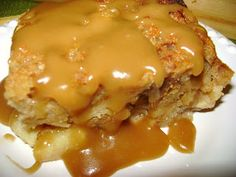 Caramel Apple Bread Pudding and other Cajun Holiday Desserts!