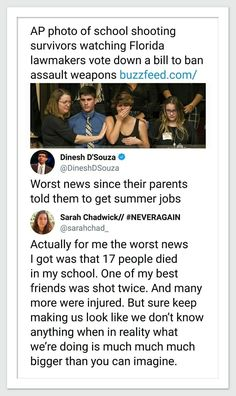 "This is what a former president of a Christian college says to his would-be students. ""You haven't seen anything of the world yet, you entitled brats. You just survived a terror attack and witnessed the murders of your friends. Get a job. Then we'll listen to you."""