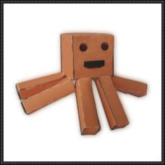 Octo-boy Free Paper Toy Download - http://www.papercraftsquare.com/octo-boy-free-paper-toy-download.html