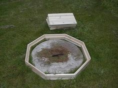 hiding septic tank covers hiding the septic tank opening cover - Garden Ideas To Hide Septic Tank