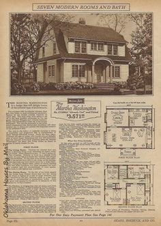 The Sears Modern Homes catalog from The cover house is the Sears Glen Falls. This catalog features interior views of 15 models. Dutch Colonial Homes, Glens Falls, Home Catalogue, Collections Catalog, Kit Homes, Modern Homes, The Borrowers, Bungalow, House Plans
