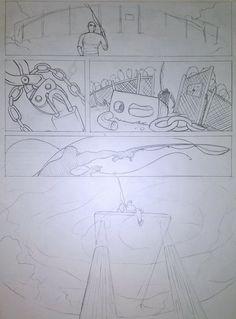 Una storyboard di rilevanza penale.
