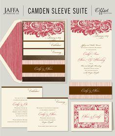 Wedding Invitation Blog: Gorgeous Pocket Wedding Invitation Suite