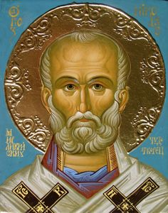 Saint Nicholas, Orthodox Icons, Holi, Ornaments, Children, Art, Saints, Byzantine Icons, Fresco