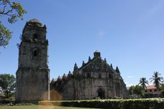 St. Augustine Church of Paoay, an 18th century baroque structure that withstood the test of time.     #ilocosnorte #paoay #philippines