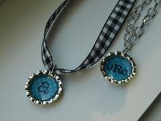 Bottle Cap Charm Necklaces–She'll Love 'Em! | Less Than Perfect Life of Bliss | home, diy, travel, parties, family, faith