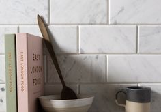Our Bianco Carrara C Honed Marble metro tiles make a gorgeous splashback Marble Wall Tiles, Tiles, Kitchen Wall, Marble Tile Kitchen, Honed Marble Tiles, Stone Flooring, Kitchen Marble, Splashback, Kitchen Wall Tiles