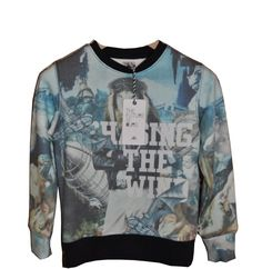 The Future Is Ours Damashii Sweater| www.littlesahou.com