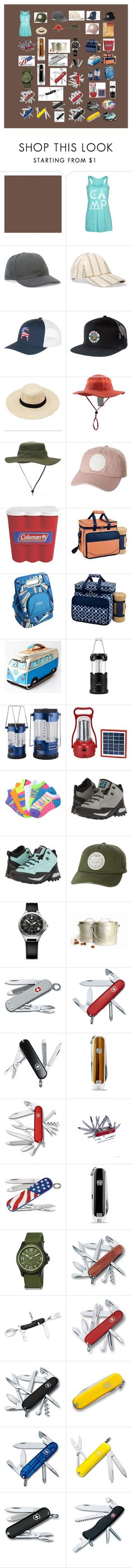 """More Camping Items"" by mikahelaine ❤ liked on Polyvore featuring Country Casuals, Acne Studios, Backcountry, Poler, Billabong, Coleman, Picnic at Ascot, Everlast, Five Ten and Victorinox Swiss Army"