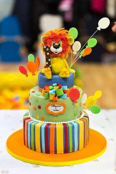 Little lion cake - Cake by Olga Danilova