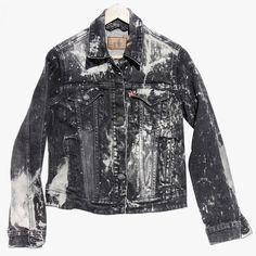 No Name Saint Levi's Red Tab black bleach denim jacket, $118 nonamesaint.com