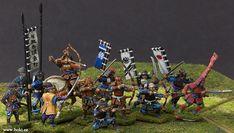 Boki Wargame Miniatures Plastic Toy Soldiers, Samurai Warrior, Fantasy Miniatures, Asia, Miniture Things, Military History, Diorama, Empire, Japanese