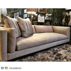 Furniture in Knoxville - Rowe Furniture - Braden's Lifestyles Furniture - The Hyde Sofa - Home Décor - Home Interiors - Interior Design - The Design Center at Braden's - Repost from LulusDecor