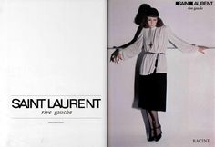 1974-75 - Saint Laurent Rive Gauche adv