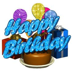 Happy Birthday Glitter Words | Copy and Paste the code below in your Facebook Myspace Orkut profile