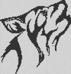wolf - Alpha Pattern #14026 Preview added by puppydog