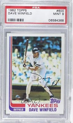 1982 Topps #600 Dave Winfield PSA 9 New York Yankees Baseball Card | Sports Mem, Cards & Fan Shop, Sports Trading Cards, Baseball Cards | eBay!
