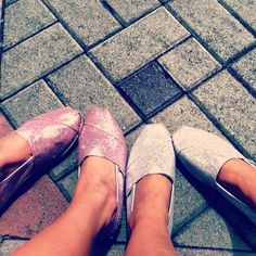 Every girl needs a pair of sparkley shoes :)