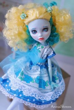 OOAK Monster High Lagoona / doll