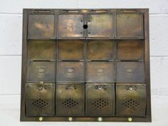 Compartment Fully Recessed Vertical Replacement Mailboxes