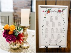 Jamie Tervort Photography, Cedar Hills Utah, Winter Wedding, Orange, Navy, Magenta Flowers, Seating Chart