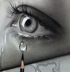 drawings sad 39 trendy Ideas for drawing sad eyes art 39 trendy Ideas for drawing sad eyes art Realistic Eye Drawing, Drawing Eyes, Painting & Drawing, Crying Eye Drawing, Pencil Art Drawings, Drawing Sketches, Sketching, Eye Drawings, Sad Eyes