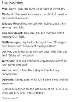 BBS Thanksgiving
