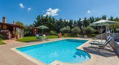 Villa Adina - Authentic Crete, Villas in Crete, Holiday Specialists Crete, Villas, Bedrooms, Outdoor Decor, Holiday, Vacations, Mansions, Bed Room, Villa