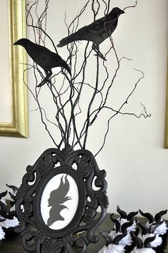 Maleficent Inspired Birthday Party via Kara's Party Ideas KarasPartyIdeas.com…