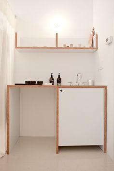 Simple sleek cool. La Garçonne Shop in Tribeca, Designed by Solveig Fernlund, Photograph by Michael Muller