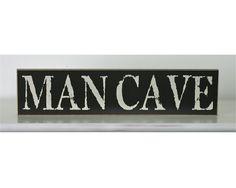 "24"" ""Mancave"" sign"