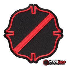 Patch printed embroidered travel souvenir biker backpack flag  sealand