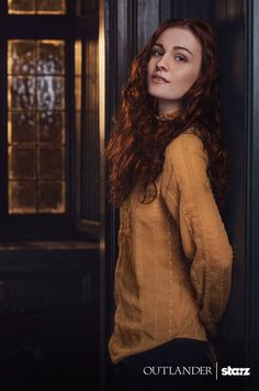 Outlander ‏@Outlander_Starz 1/28/16 The wait is over! Meet Sophie Skelton (@skeltonsophie), who will be playing our beloved Brianna. #Outlander