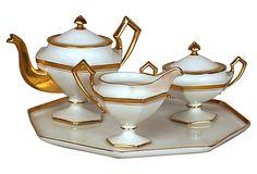 Limoges Art Deco Tea Set, 4 Pcs on OneKingsLane.com