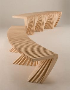 Sculptural Wooden Lobby Bench Like River   Spill | Great Furniture |  Pinterest | Lobbies, Rivers And Building Furniture Good Looking