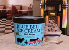 Malt Shoppe Ice Cream from Blue Bell    I'm not much for chocolate ice cream, but this one is GREAT!
